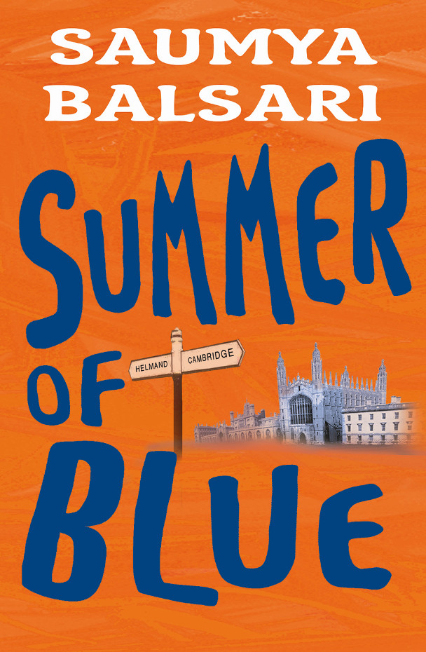 Summer of Blue book cover
